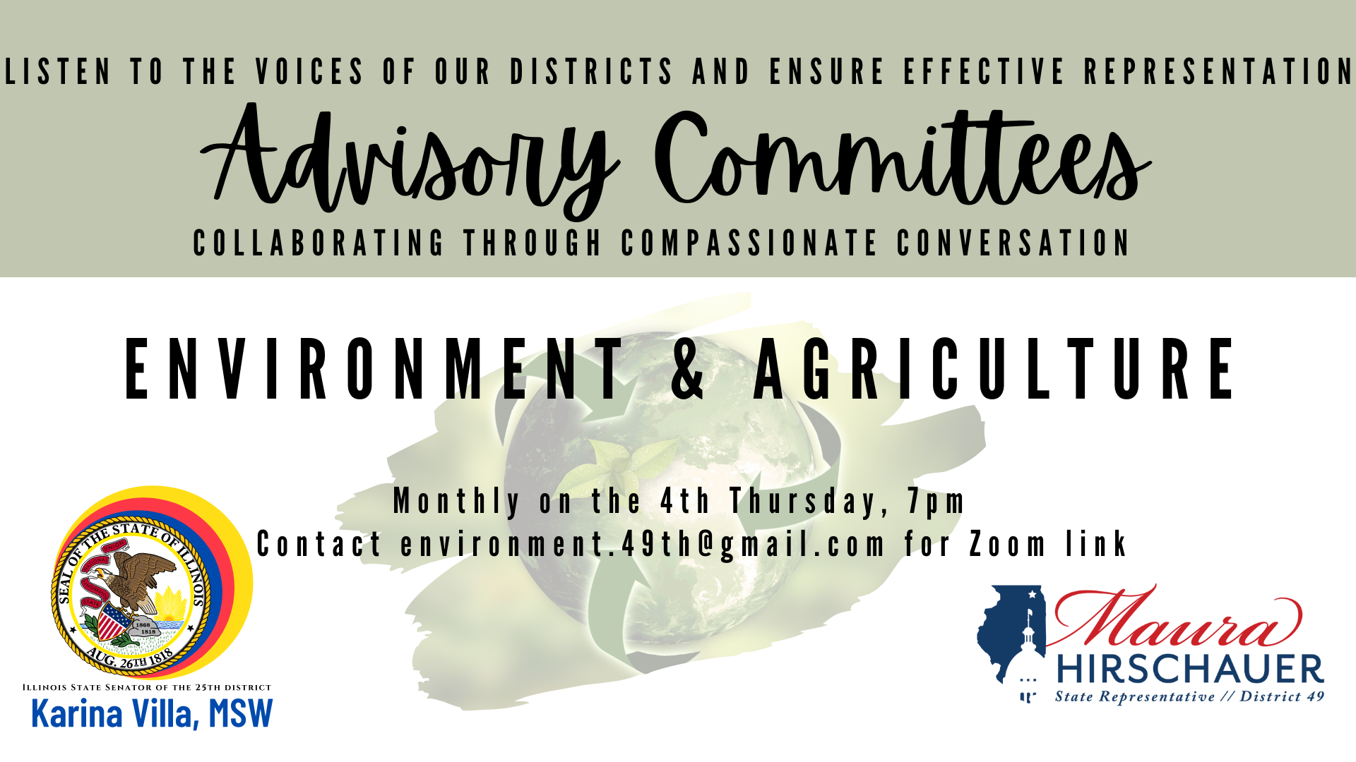 Environment & Agriculture Advisory Committee