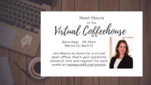 Virtual Coffeehouse March 13, April 17