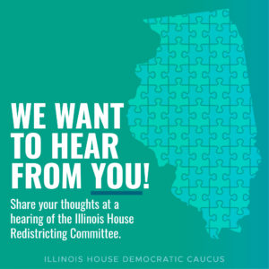 The House Redistricting Committee wants to hear from you
